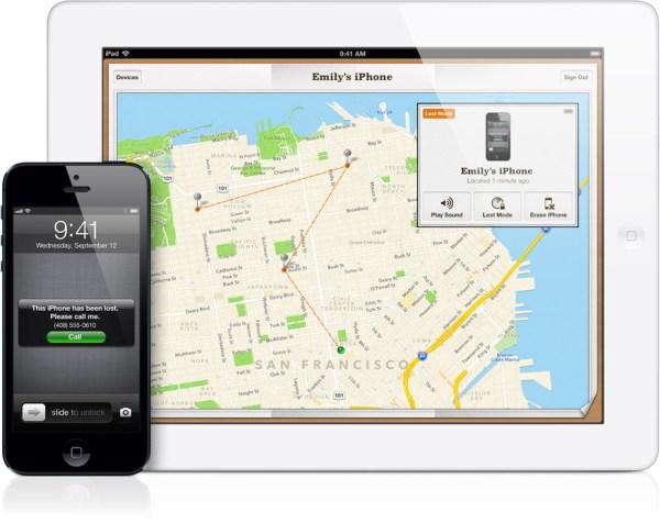 Buscar iPhone, iPad