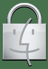 Ícone do Finder (cadeado)
