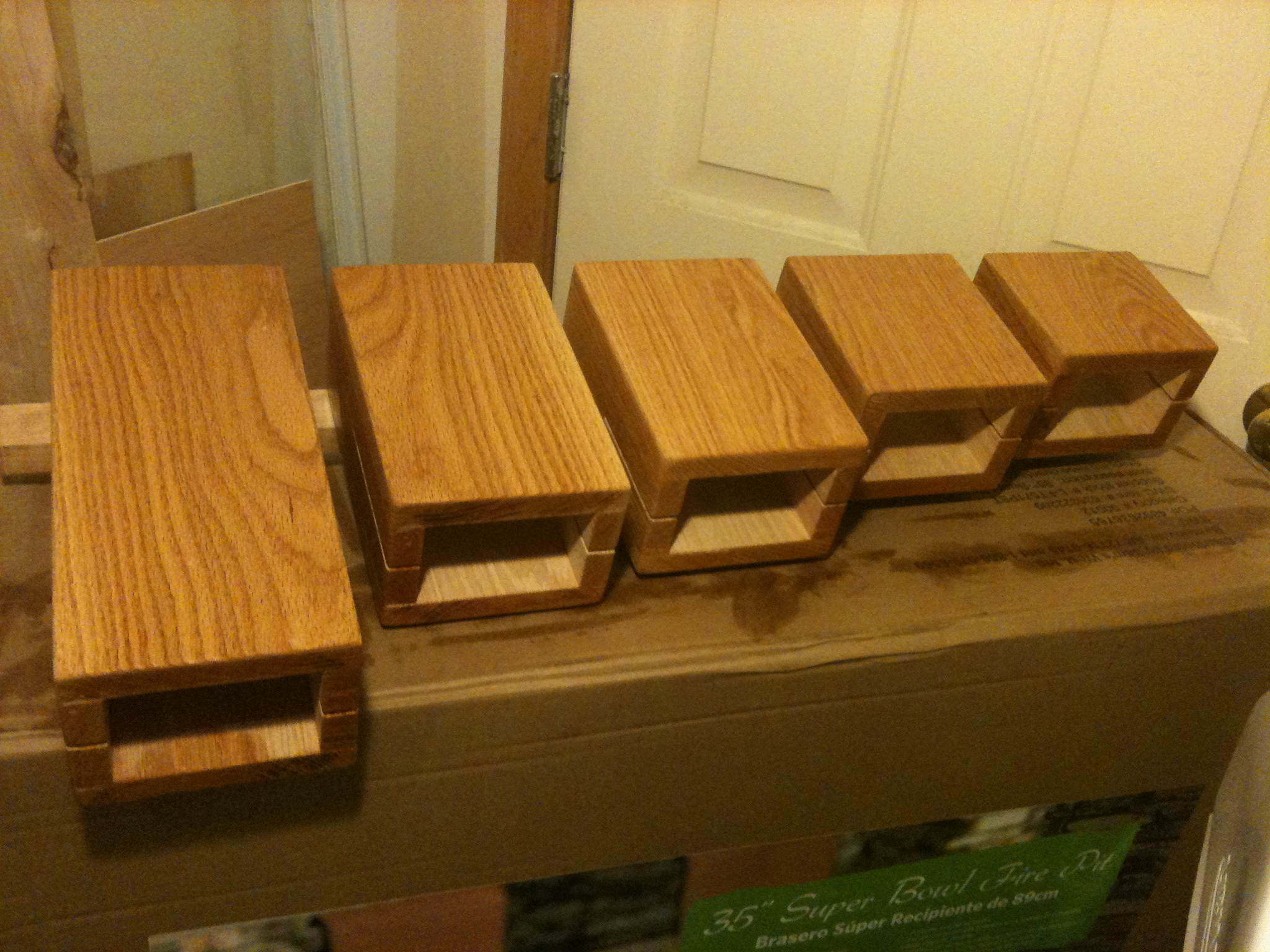Homemade percussion chimes and temple blocks « katz