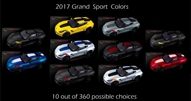 2017 Corvette Grand Sport Up To 360 Choices Macmulkin