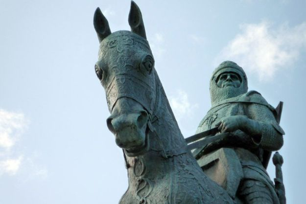 Robert The Bruce en Bannockburn