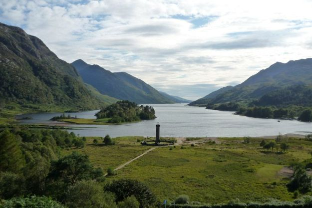 Valle y monumento de Glenfinnan