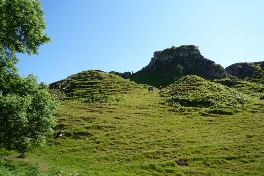 Fairy Glen, en la isla de Skye