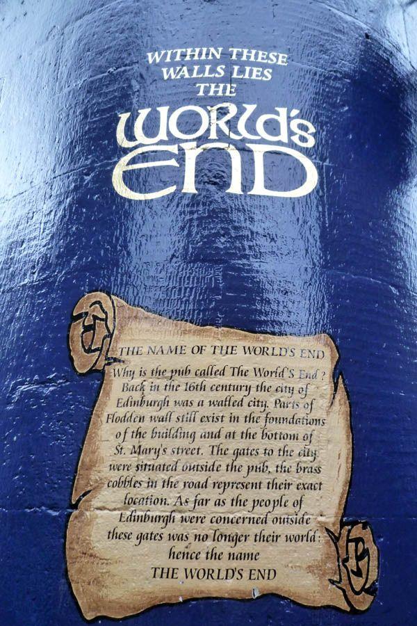 Pub The World's End