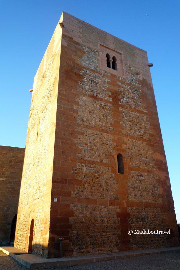 Torre del homenaje del castillo de Monzón