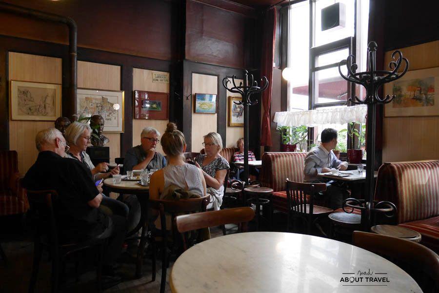 Cafe Leopold Hawelka en Viena