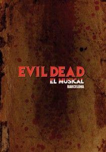 Cartel del musical de Evil Dead