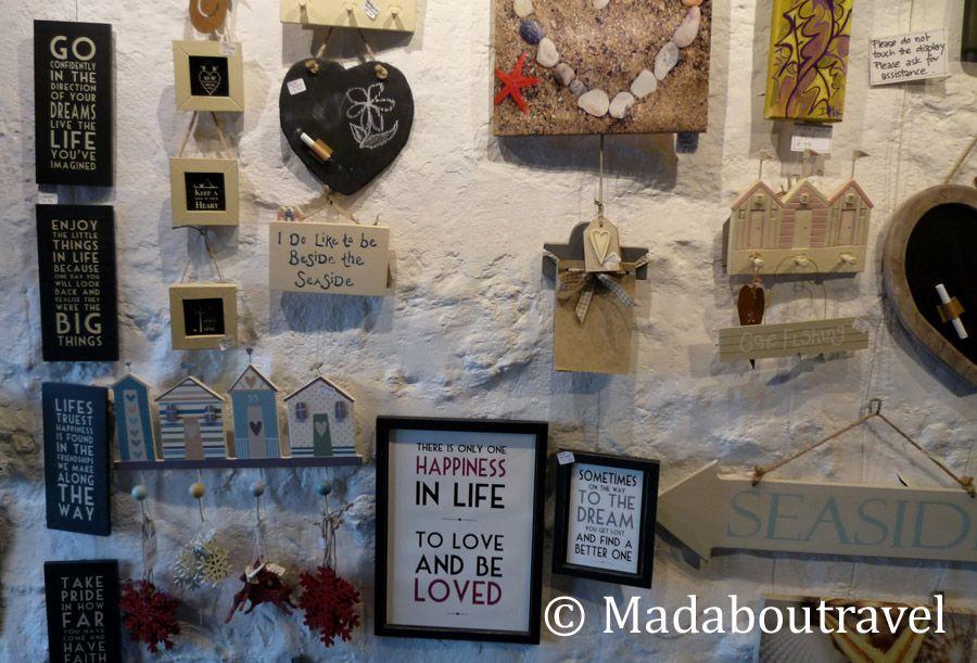 Decoración en Crail Harbour Gallery