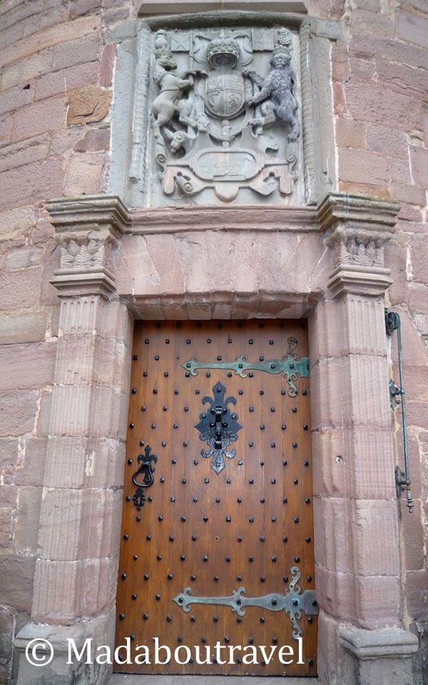 Entrada al castillo de Glamis