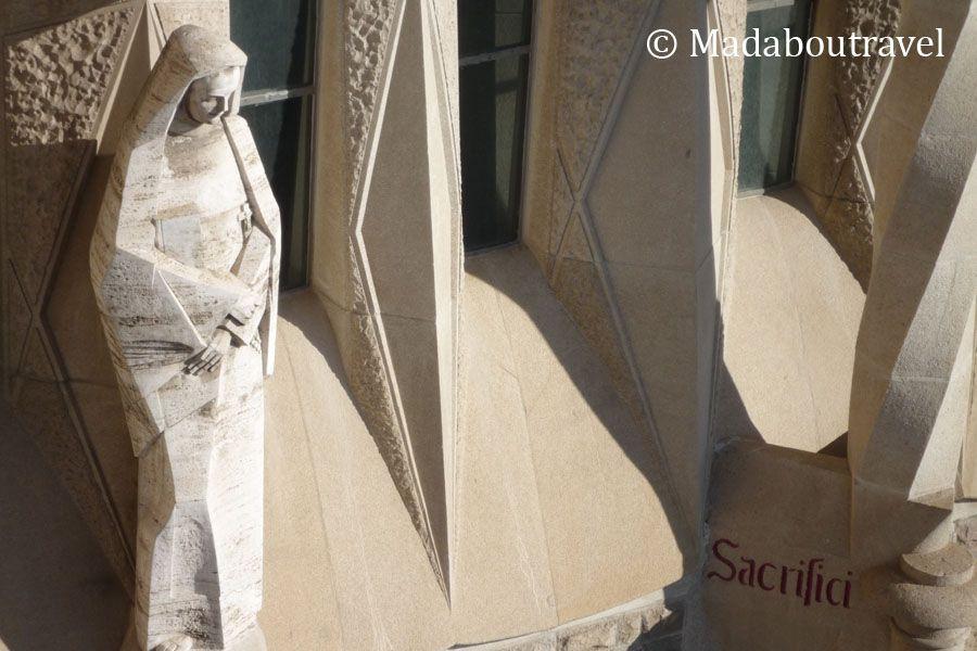 Escultura en la Sagrada Familia