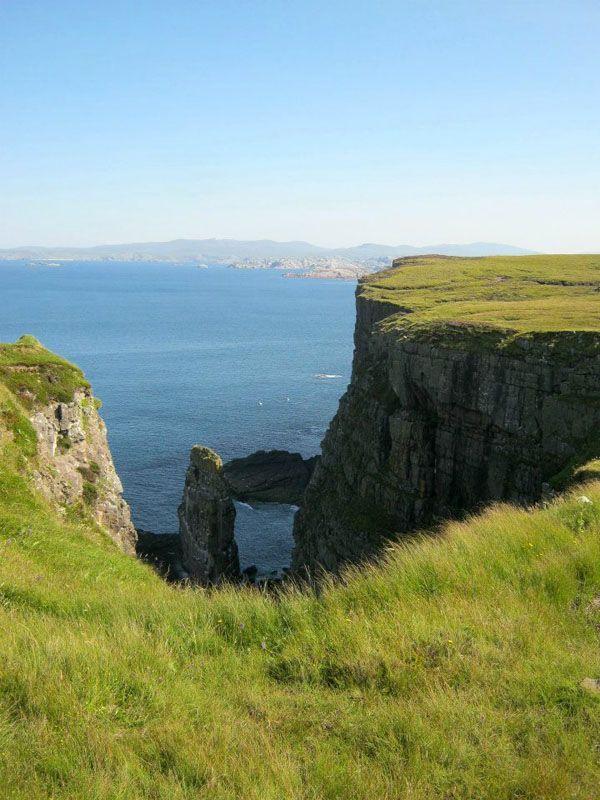 Cliffs in Handa