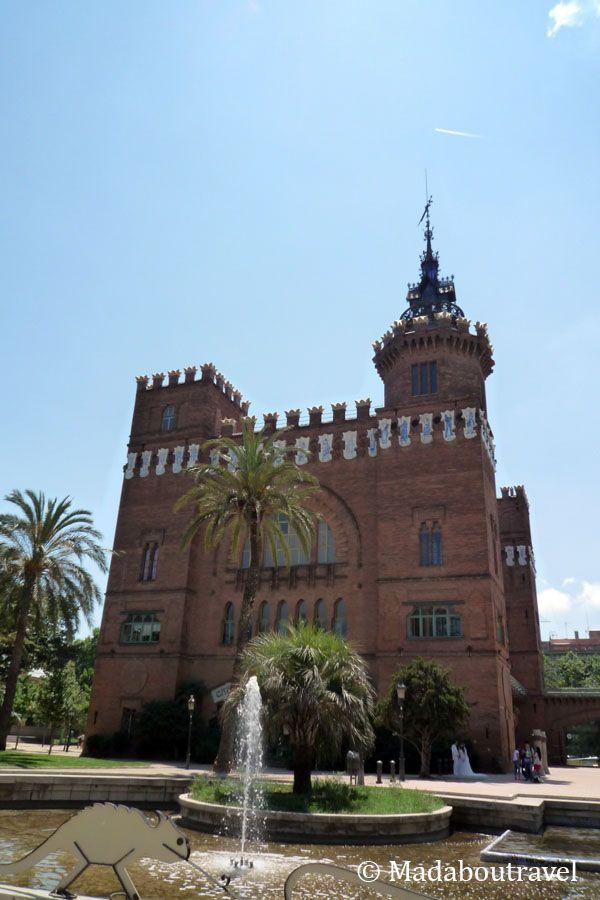Castell dels Tres Dragons en el Parque de la Ciutadella de Barcelona