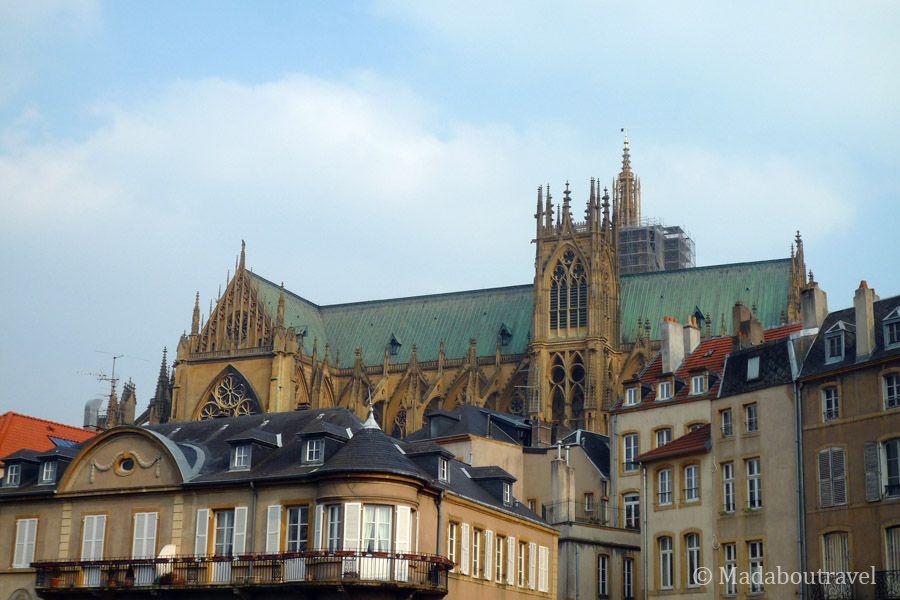 Vistas de la catedral de Metz