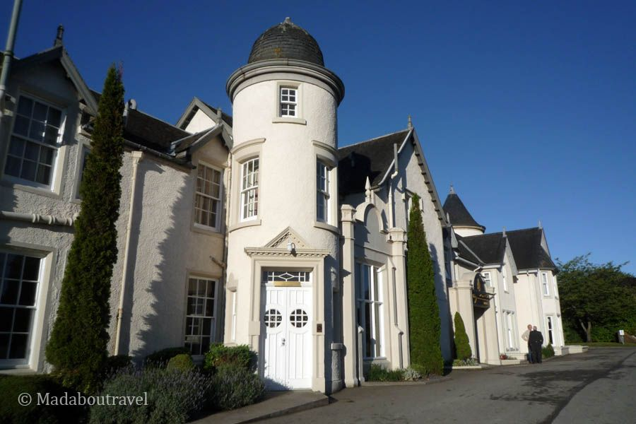 The magnificient Kingsmills Hotel in Inverness, Scotland