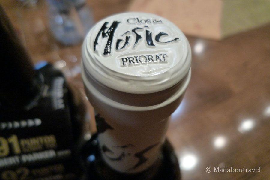 Vino DO Priorat Clos del Music de Pinord