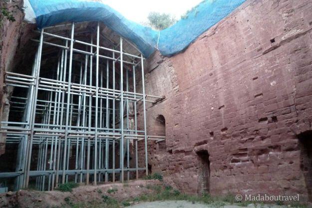 La iglesia del monasterio de Escaladei