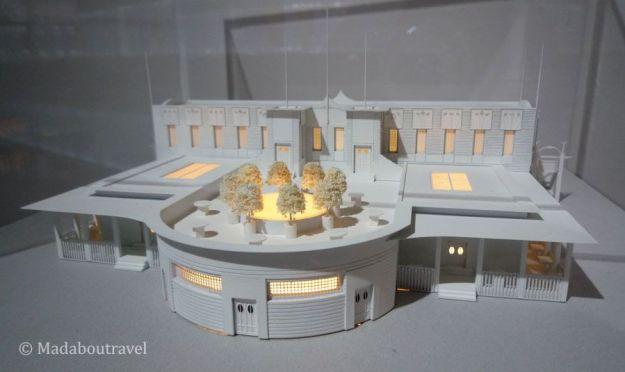 Un proyecto de Mackintosh convertido en maqueta por Ozturk Modelmakers