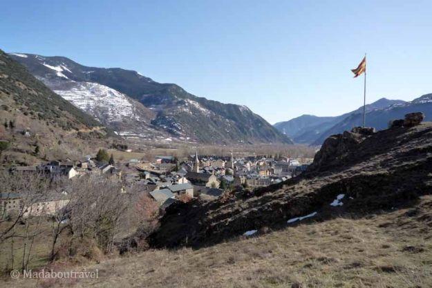 Esterri d'Àneu en el Pirineo Catalán