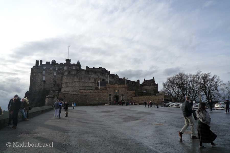 La esplanada del Castillo de Edimburgo