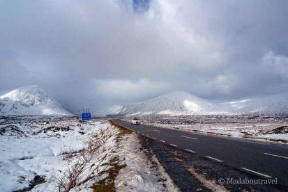 En ruta hacia Glencoe