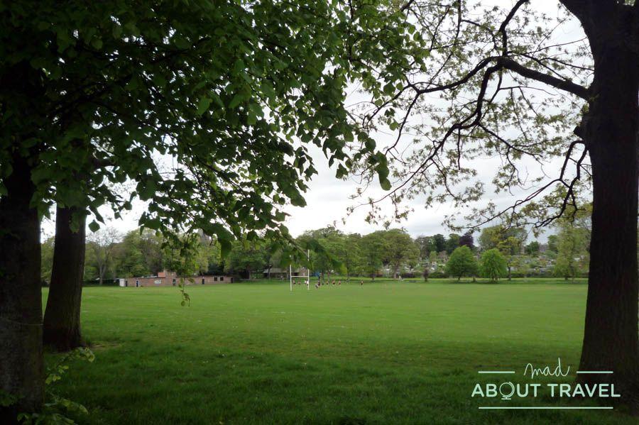 El Edimburgo más verde está en Inverleith Park