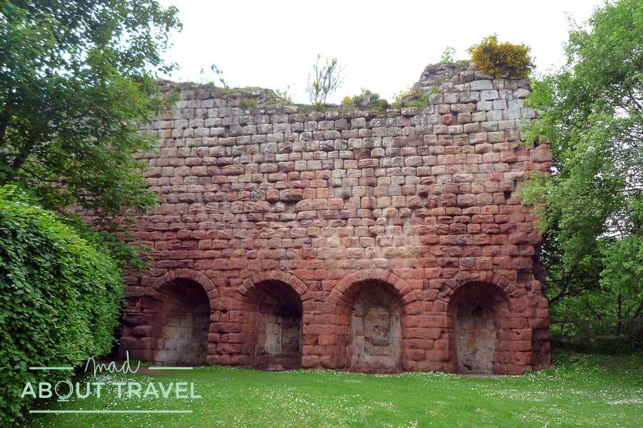 Restos del castillo de Roslin