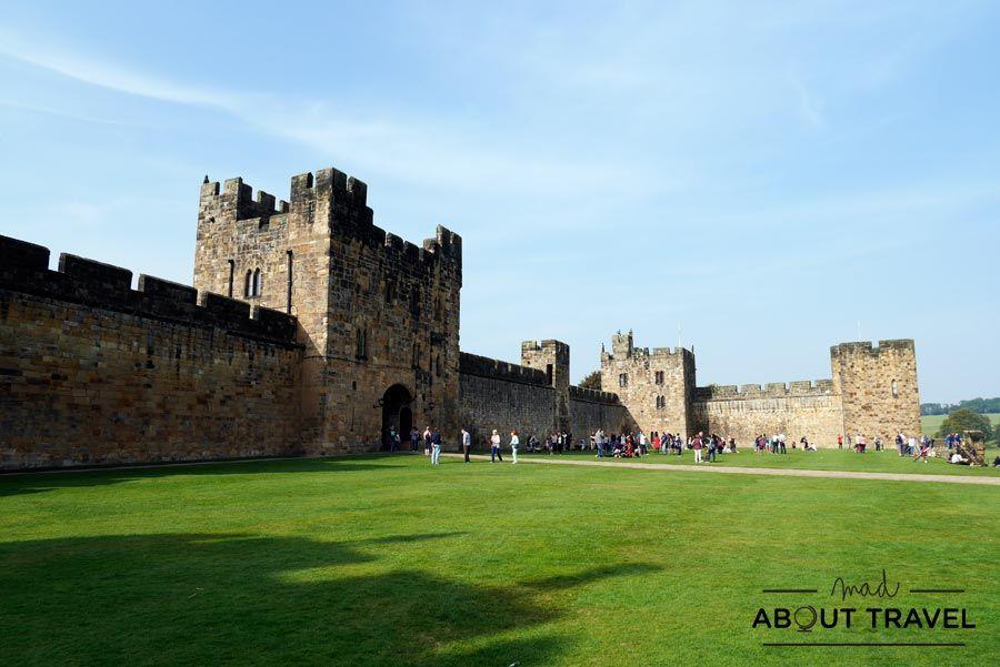 Castillo de Alnwick, Nortumbria, Inglaterra