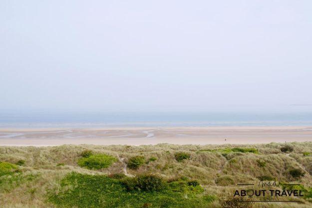 Playa de Bamburgh, Nortumbria, Inglaterra