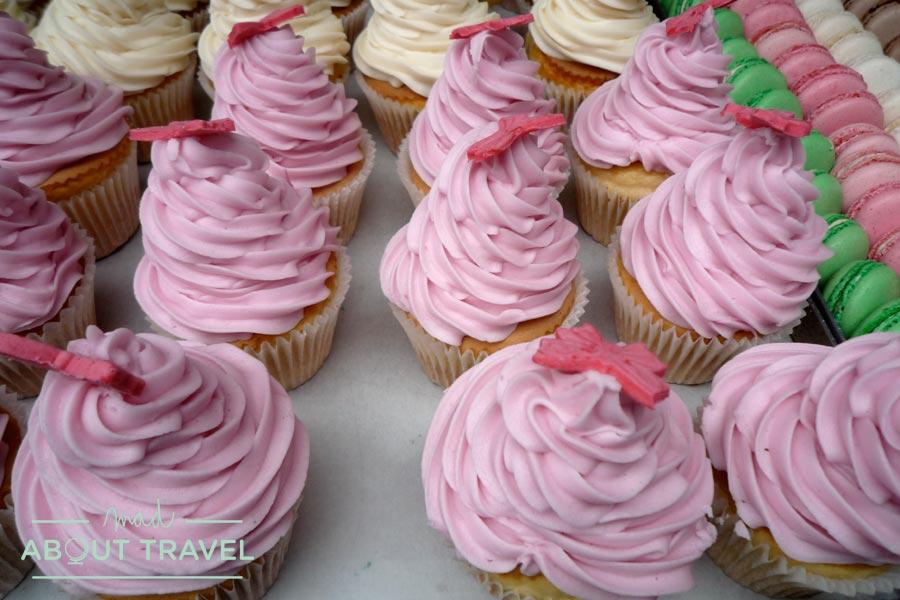 Cupcakes en el Borough Market de Londres