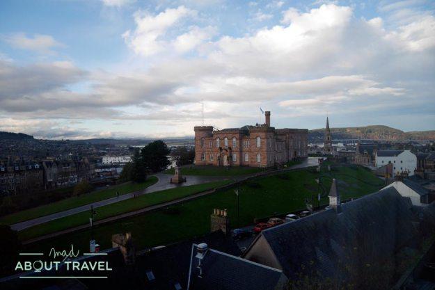 Vistas de Inverness desde mi habitacion en Craigside Guesthouse