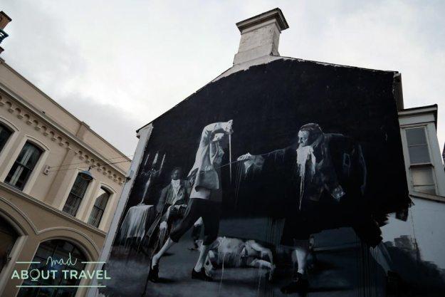 Arte urbano en Belfast