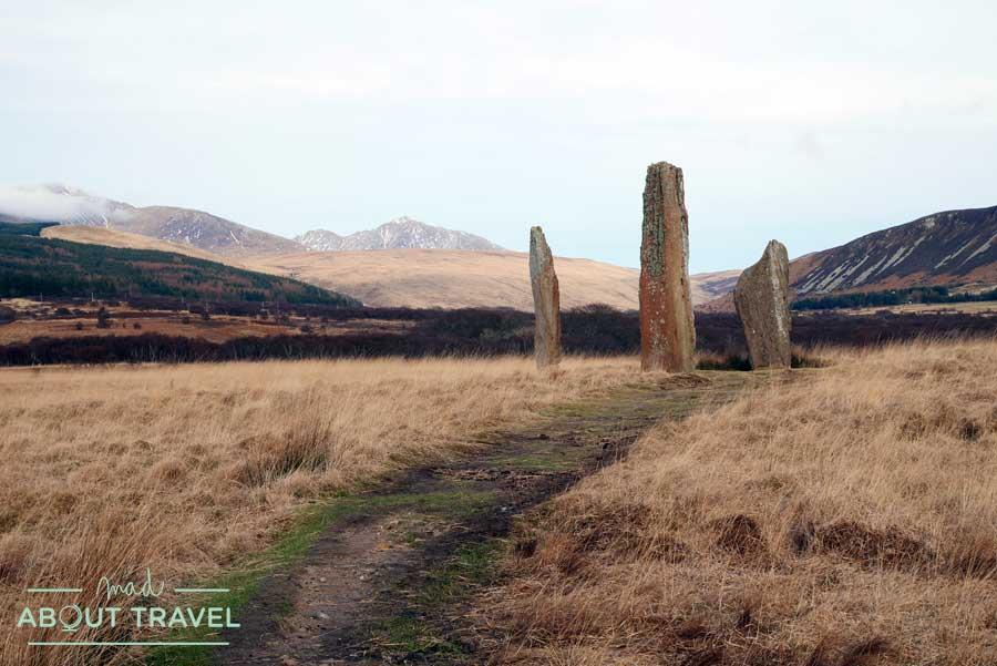 Excursión a Machrie Moor, los círculos de piedra de la isla de Arran