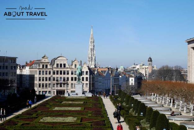 Vistas de Bruselas