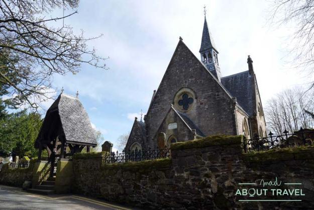 Iglesia de Luss, a orillas del Loch Lomond