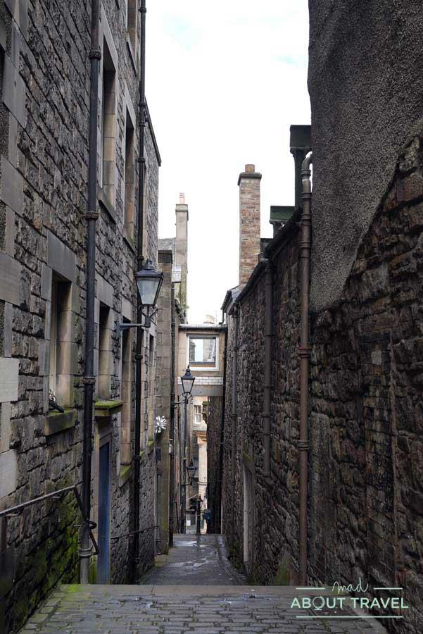 Tour Outlander - Anchor Close en Edimburgo