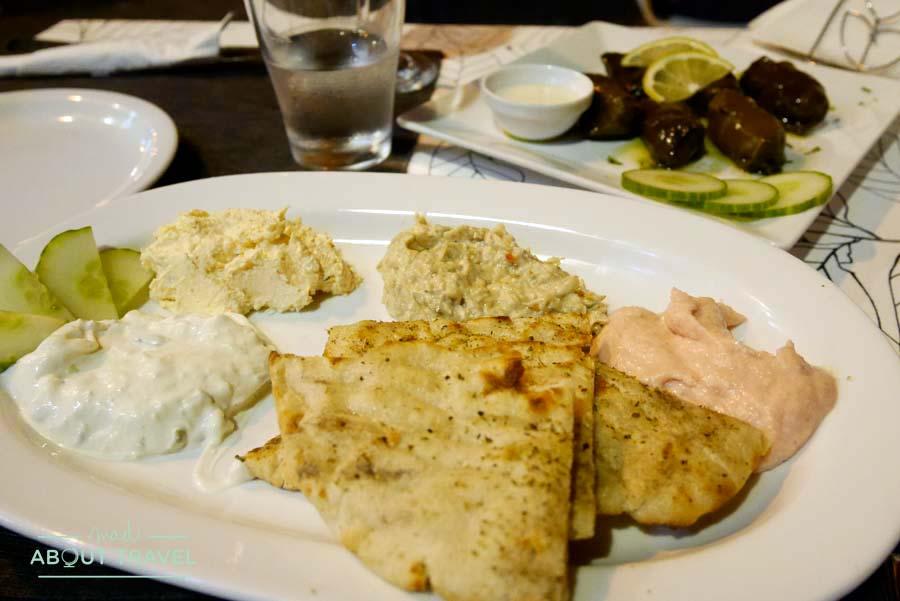 Restaurante griego Eliá en La Valletta Malta