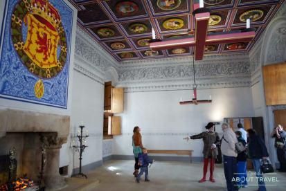Interior del palacio de Stirling