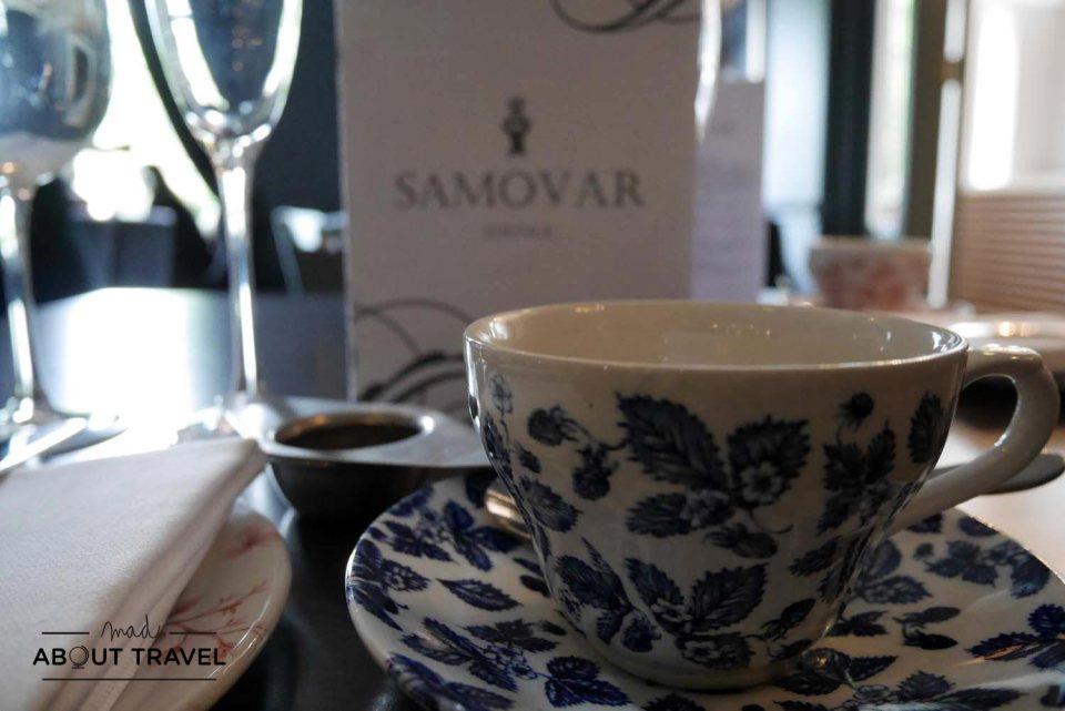 afternoon tea en Edimburgo