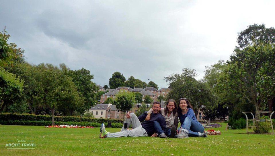 Casa de Mary Queen of Scots en Escocia