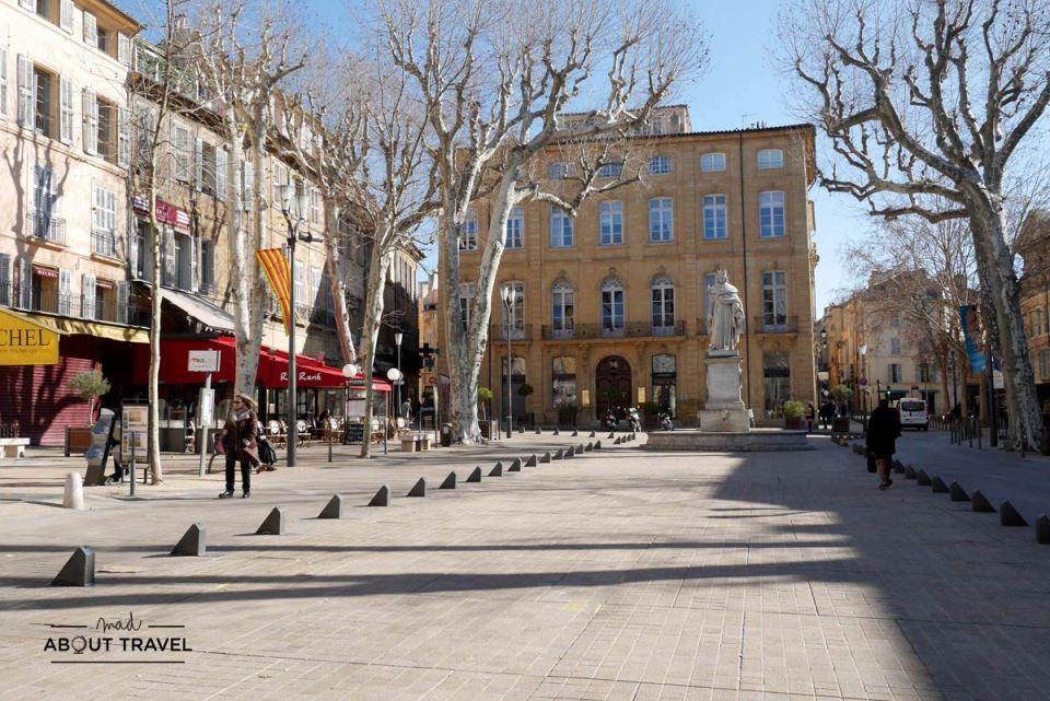 Cours Mirabeau en Aix en Provence