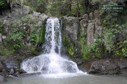 Cataratas de Waiau Falls en la península de Coromandel, Nueva Zelanda