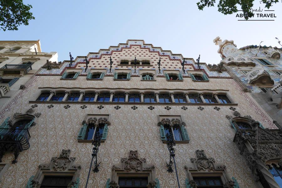 casa amatller de barcelona