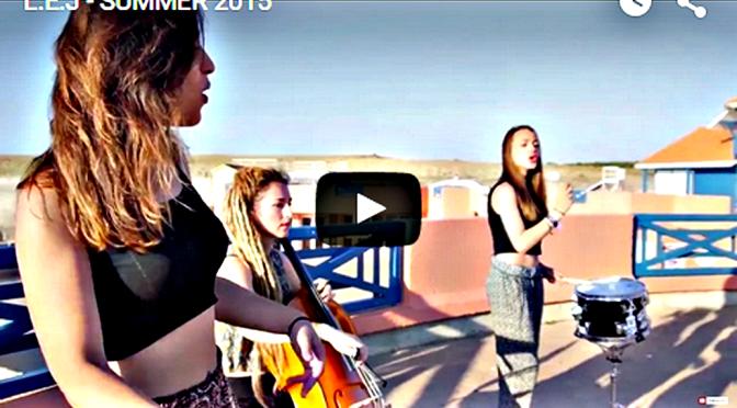 3 Meiden en Cello