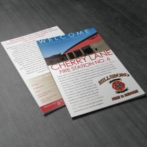 Cherry Lane Fire Station brochure