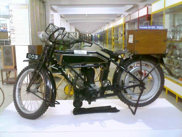 The Motor cycle G.D.Naidu purchased from the English man