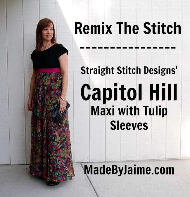 Remix The Stitch: The Capitol Hill Maxi