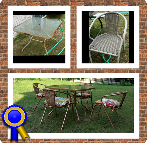 Refurbished Patio Set