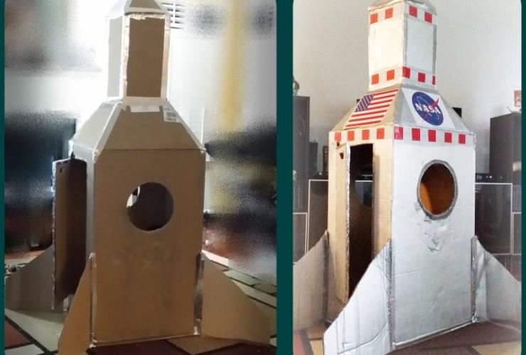 DIY Rocketships and Rocketpacks