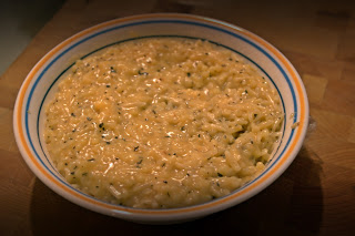 Macaroni (Acini de Pepe and Orzo Pasta) and Cheese Baby Version