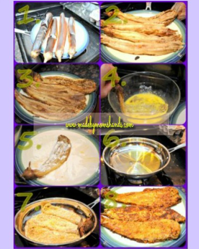 Crispy Eggplant Steps